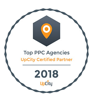 UpCidy Certified Partner 2018 - Top PPC Agencies
