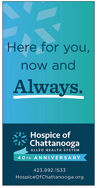 hospice of chattanooga - we're here for you