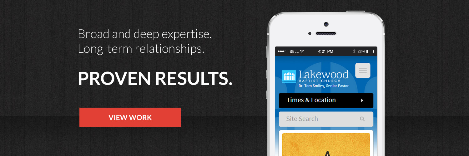 Broad and deep expertise.  Long-term relationships.  Proven Results