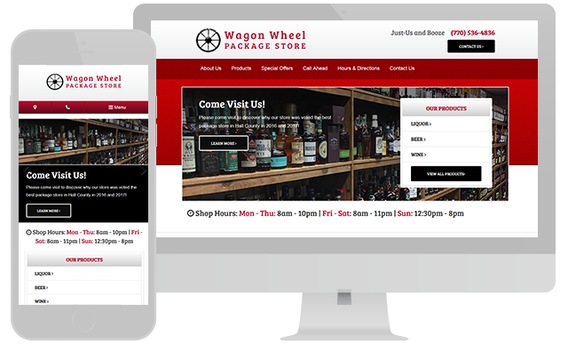 Wagon Wheel Package Store