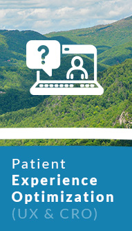 Patient Experience Optimization (UX and CRO)